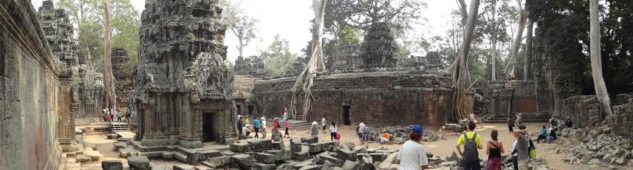 Cambodia - Siem Reap - Tree Entrapped Ta Prohm 1