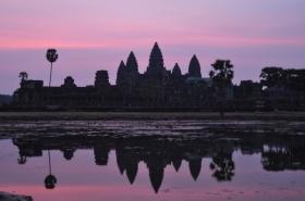 Cambodia - Siem Reap - Angkor Wat - Purple Sunrise 1