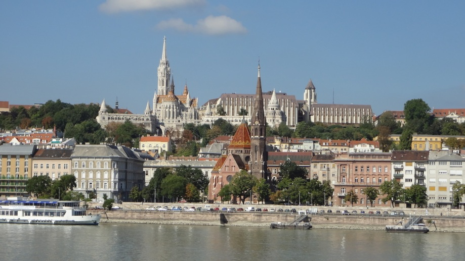 Hungary - Budapest - Castle Hill Across the Water 1