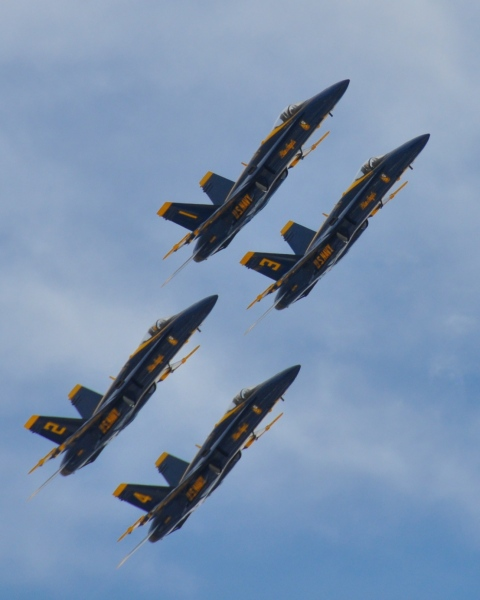 United States - Maryland - Baltimore - Blue Angels 1