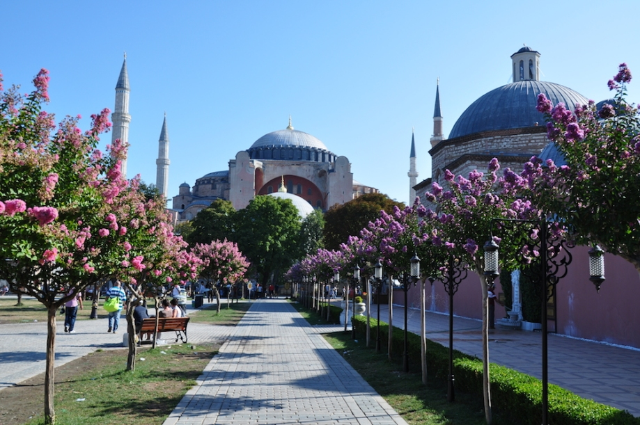 Turkey - Istanbul - Hagia Sophia Outside 1