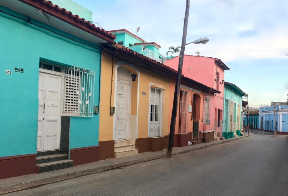Cuba - Trinidad Colorful Street