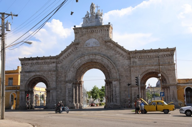 Gates to the Colon Cemetery
